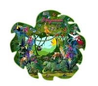 Тропический Лес Амазонки. Напольный пазл 25 деталей